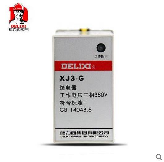 德力西XJ3-G AC380V断相与相序保护器
